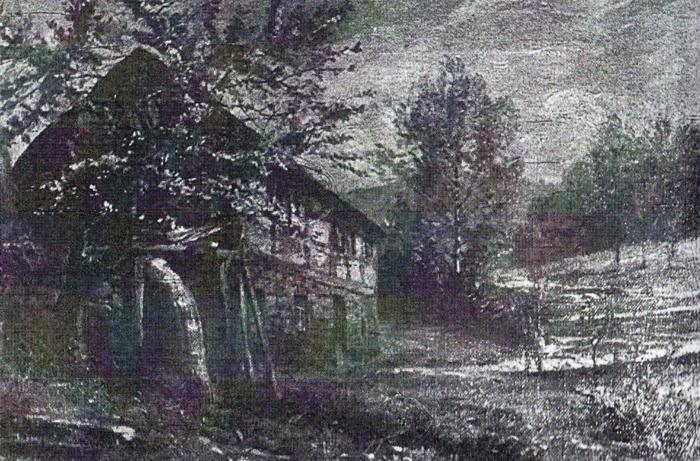 Ein Bild der Gelbermühle